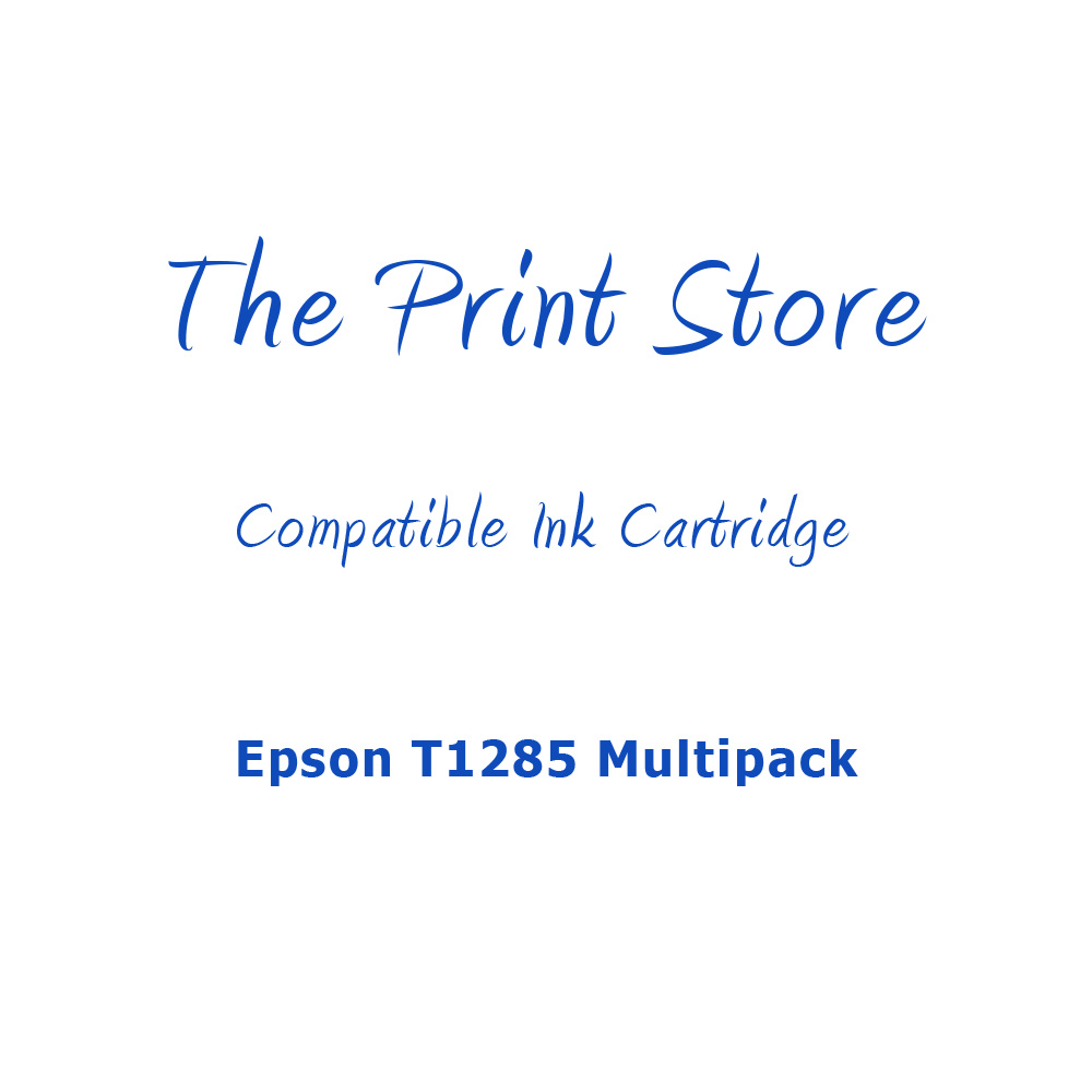 Epson T1285 Multipack of Compatible Ink Cartridges