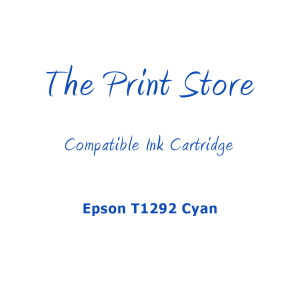 Epson T1292 Cyan Compatible Ink Cartridge