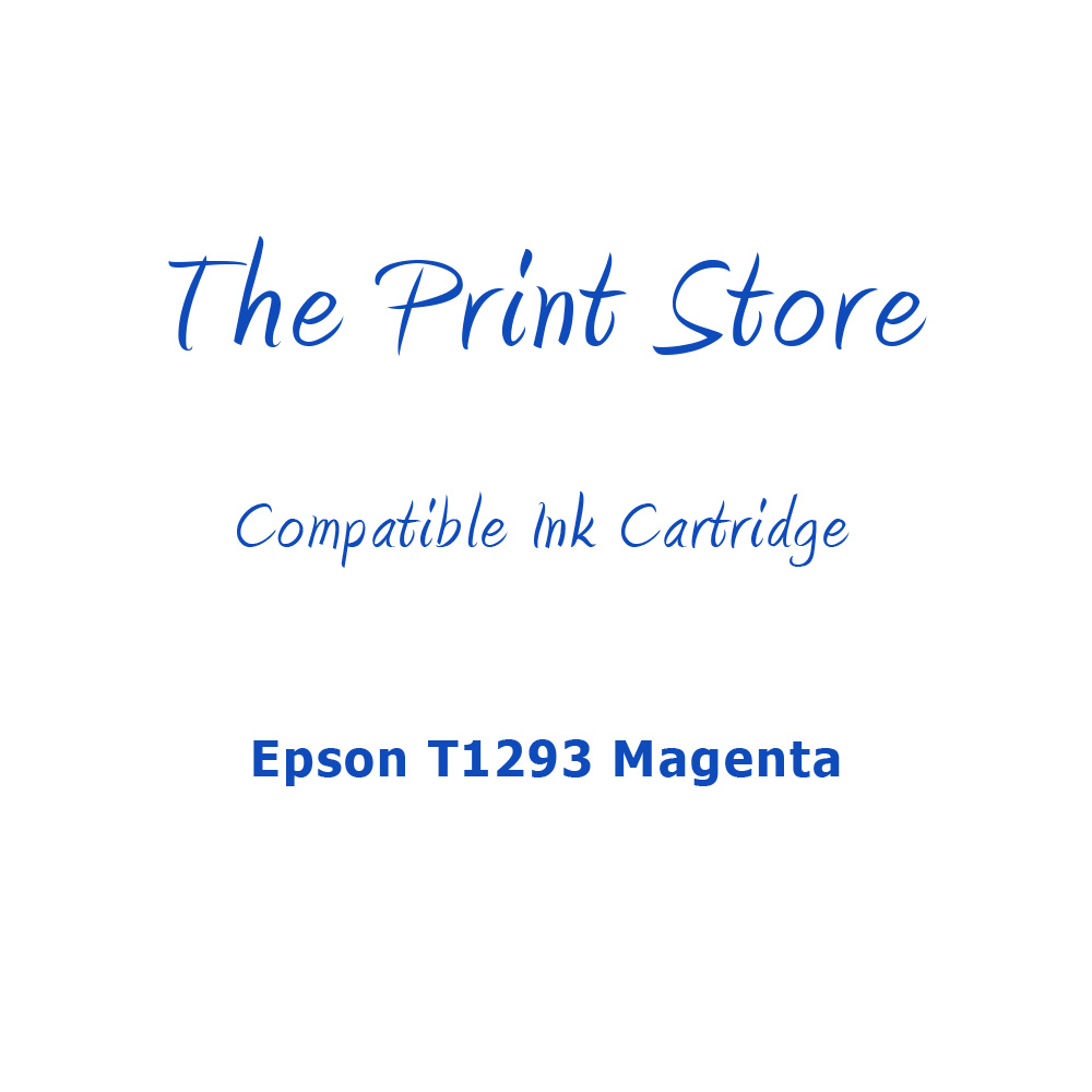 Epson T1293 Magenta Compatible Ink Cartridge