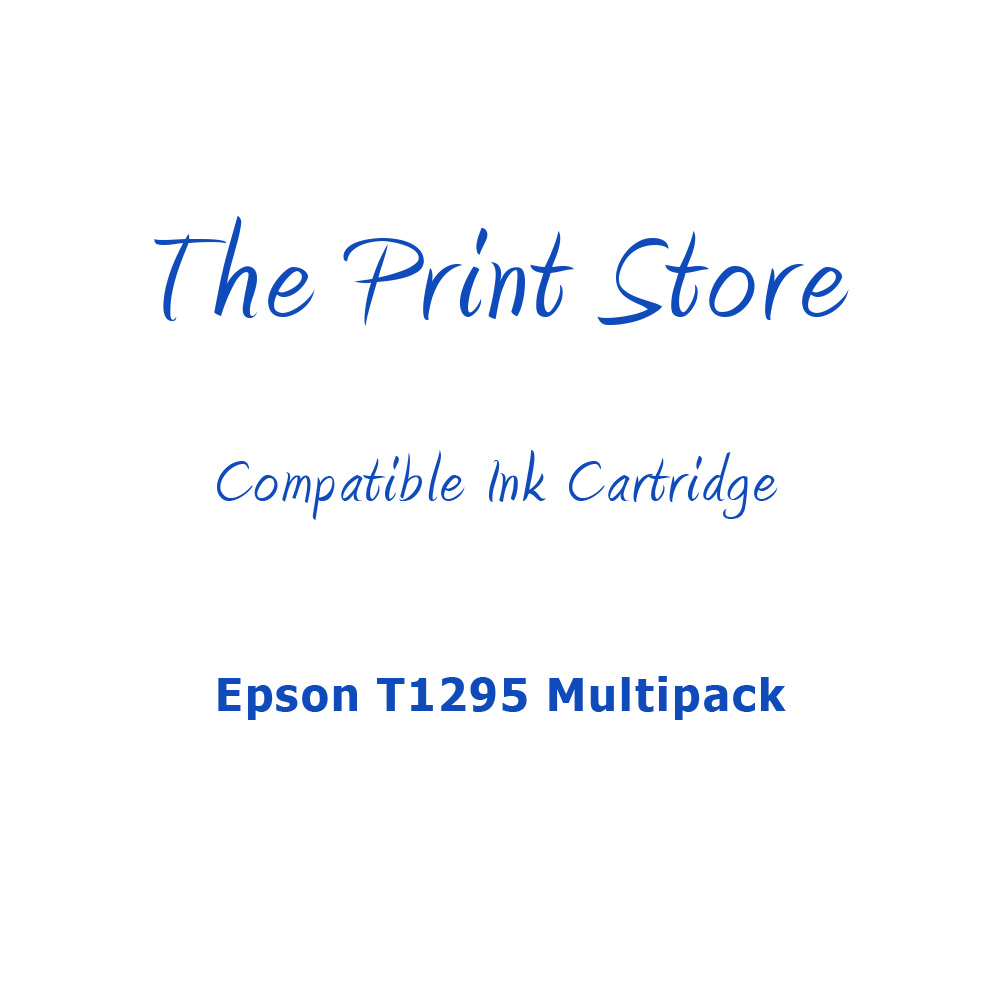 Epson T1295 Multipack of Compatible Ink Cartridges