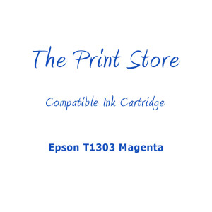 Epson T1303 Magenta Compatible Ink Cartridge
