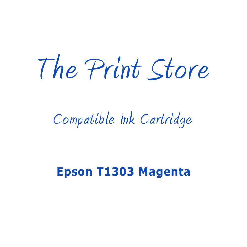 Epson T1303 Magenta Compatible Ink Cartridge