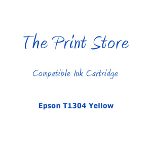 Epson T1304 Yellow Compatible Ink Cartridge