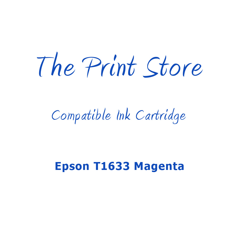 Epson T1633 Magenta Compatible Ink Cartridge