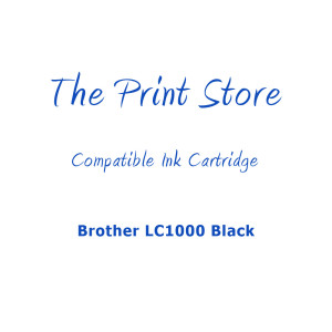 Brother LC1000 Black High Yield Compatible Ink Cartridge