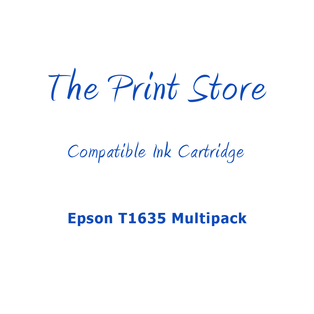 Epson T1635 Multipack Compatible Multipack of Ink Cartridges