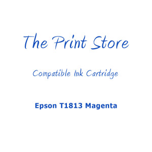 Epson T1813XL Magenta Compatible Ink Cartridge