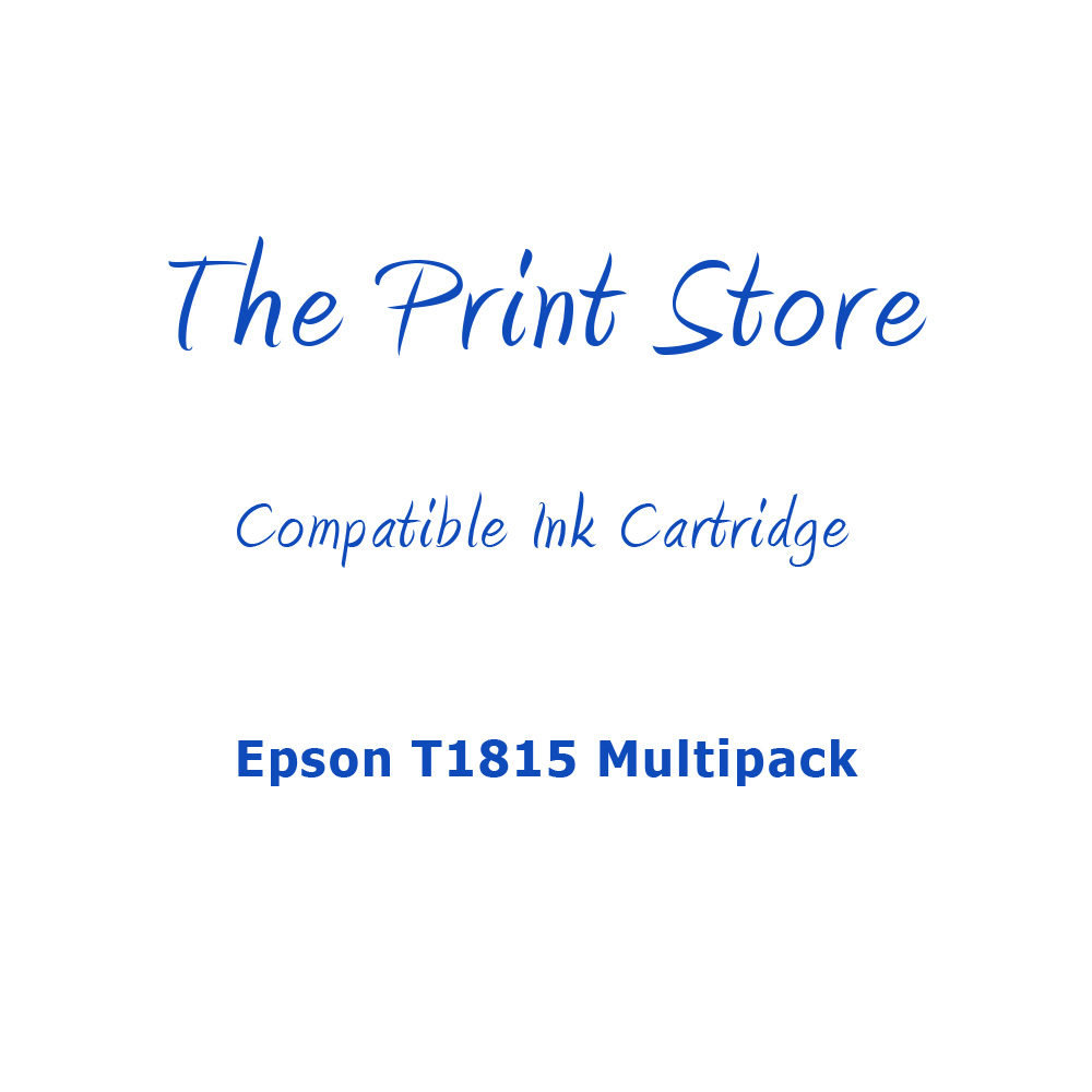 Epson T1815XLMultipack Compatible Multipack of Ink Cartridges