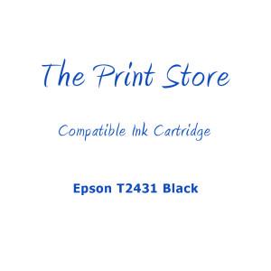 Epson T2431XL Black Compatible Ink Cartridge