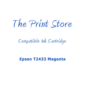 Epson T2433XL Magenta Compatible Ink Cartridge
