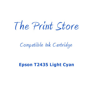 Epson T2435 Light Cyan Compatible Light Cyan of Ink Cartridges