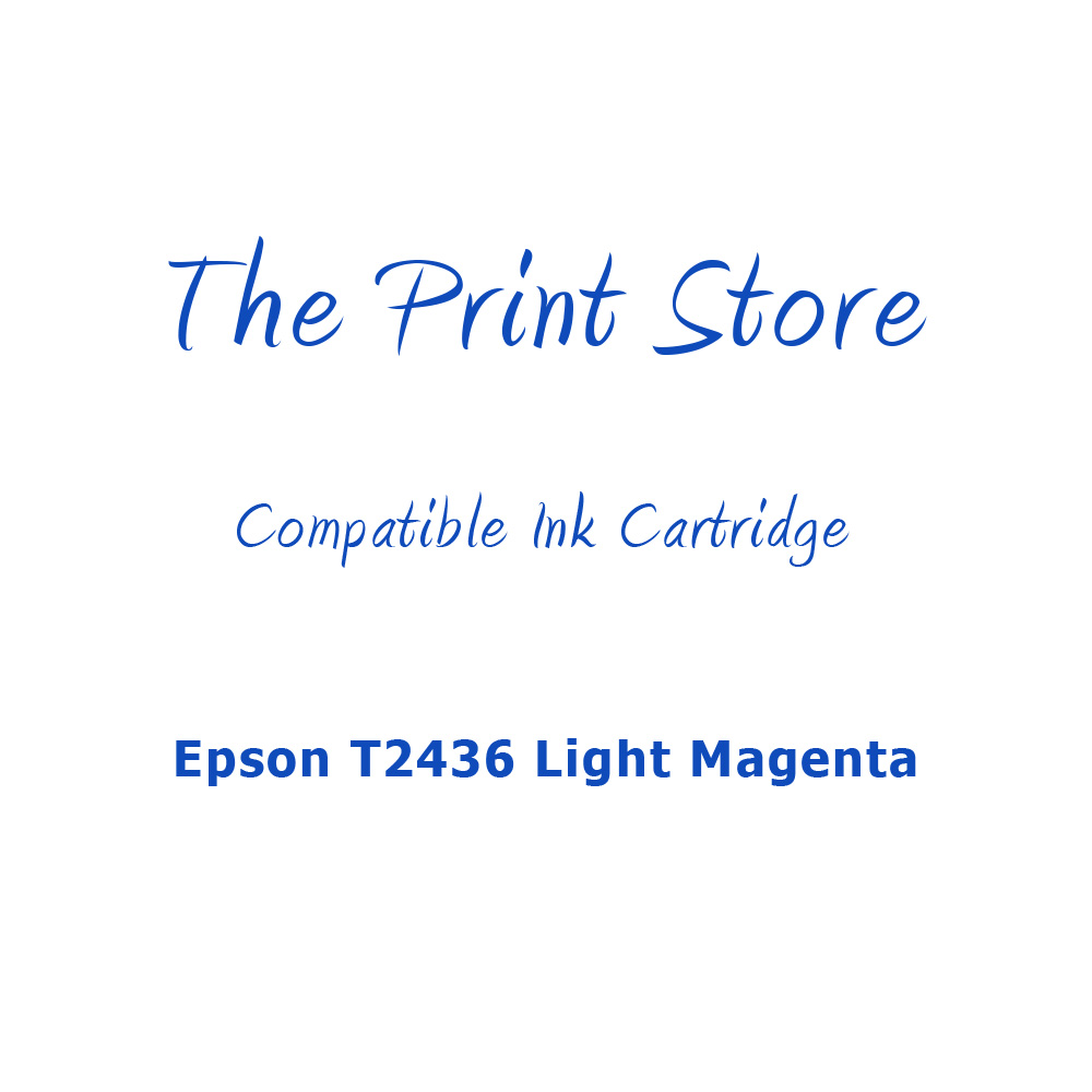 Epson T2436 Light Magenta Compatible Ink Cartridge