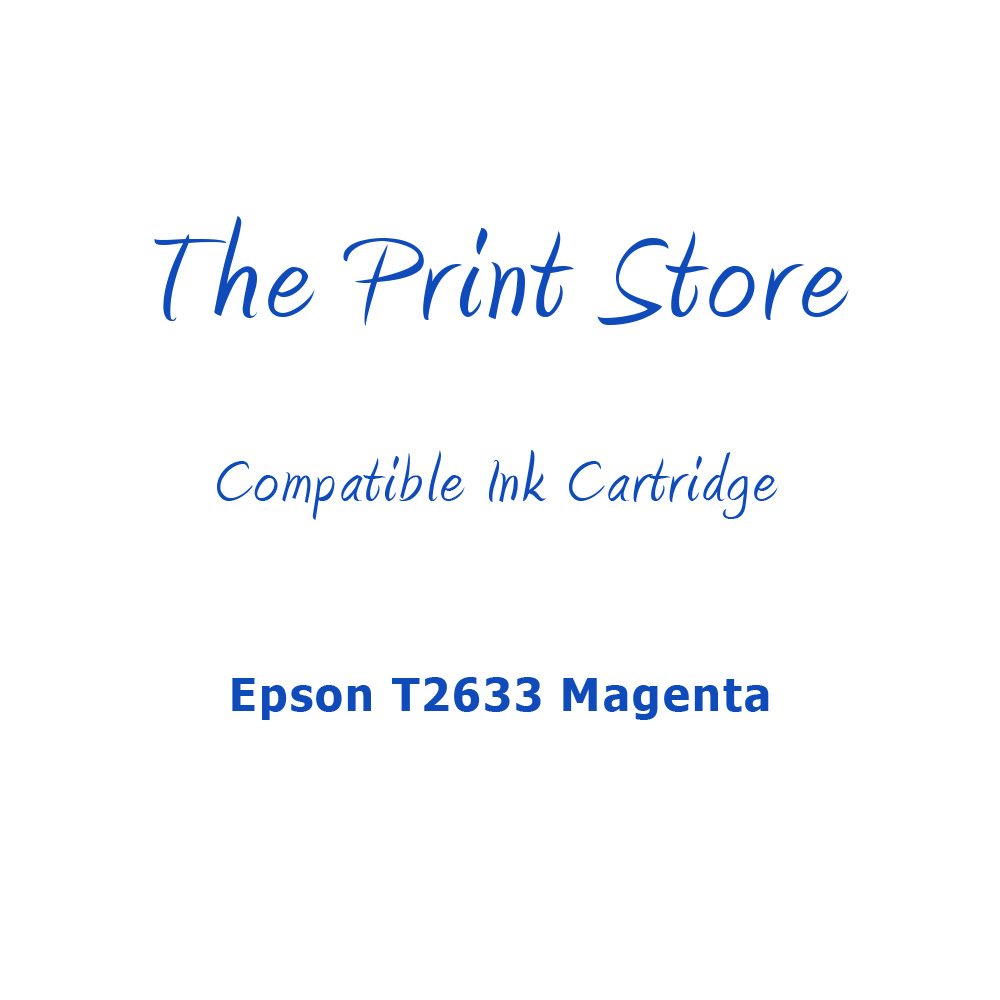 Epson T2633 Magenta Compatible Ink Cartridge