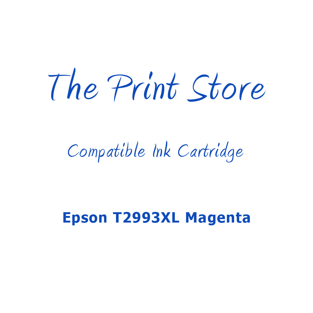 Epson T2993XL Magenta Compatible Ink Cartridge