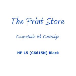 HP 15 (C6615N) Black Compatible Ink Cartridge