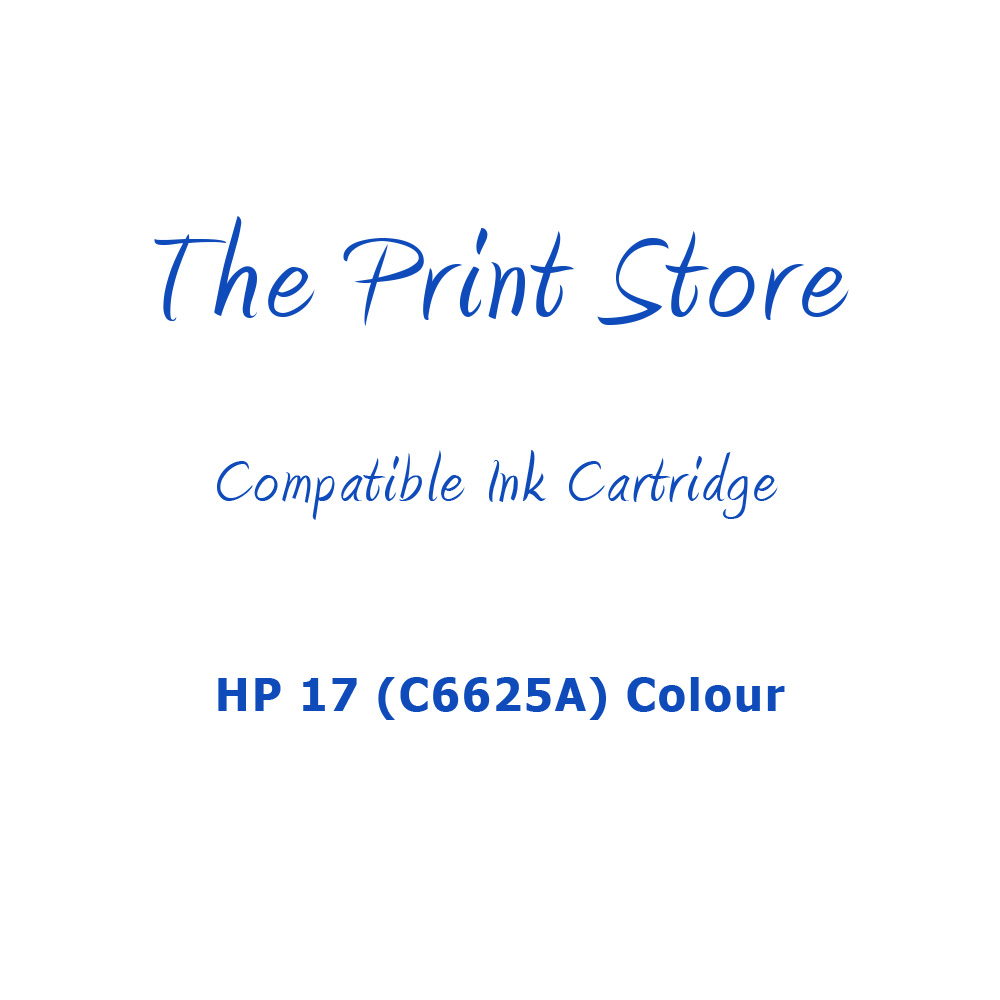 HP 17 (C6625A) Colour Compatible Ink Cartridge