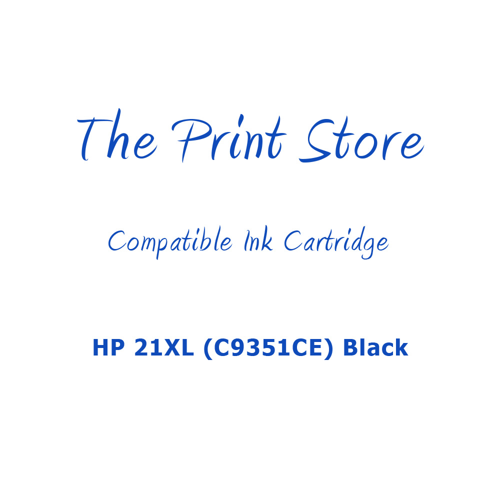 HP 21XL (C9351CE) Black Compatible Ink Cartridge