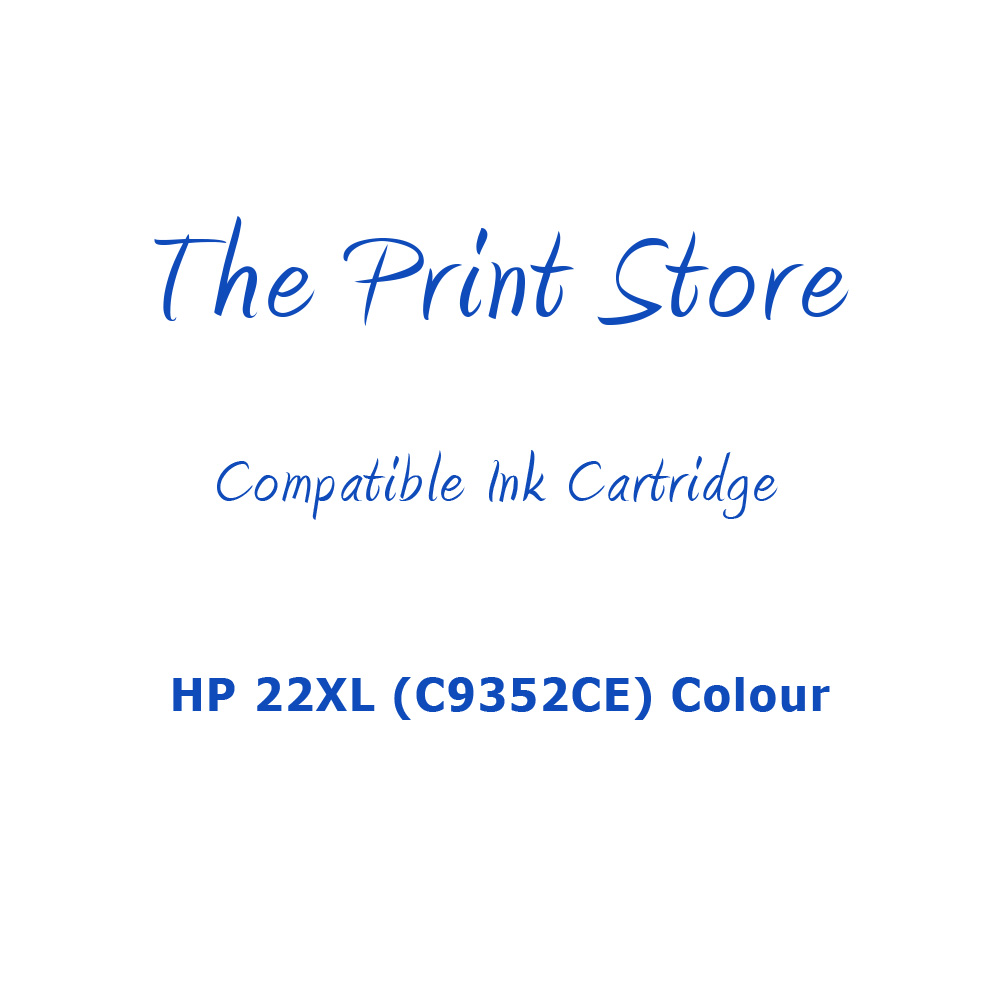 HP 22XL (C9352CE) Colour Compatible Ink Cartridge