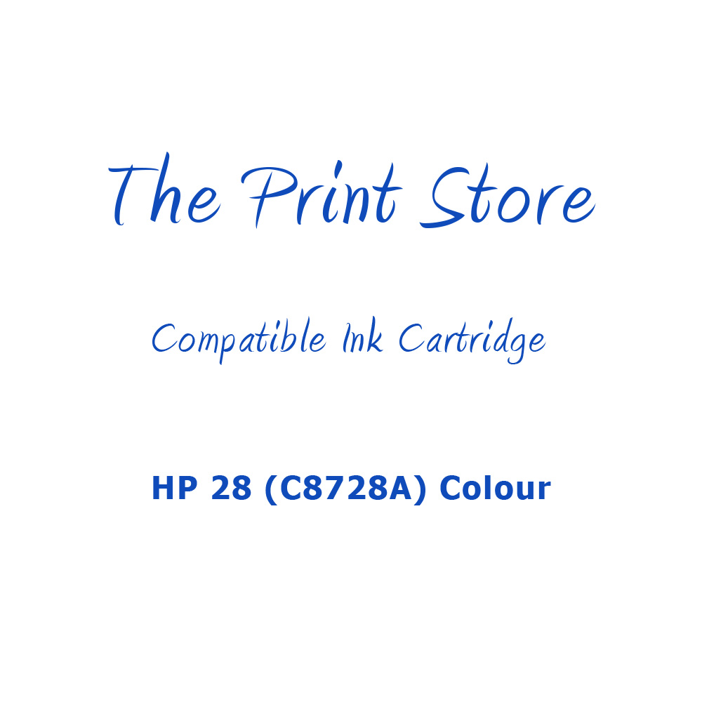 HP 28 (C8728A) Colour Compatible Ink Cartridge