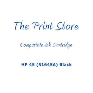 HP 45 (51645A) Black High Capacity Compatible Ink Cartridge