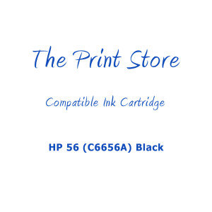 HP 56 (C6656A) Black Compatible Ink Cartridge
