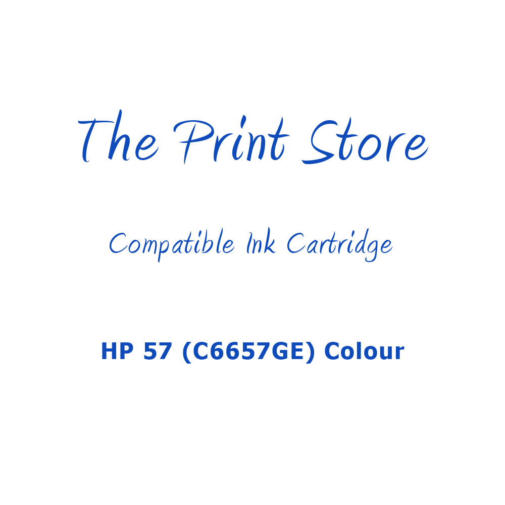 HP 57 (C6657GE) Colour Compatible Ink Cartridge