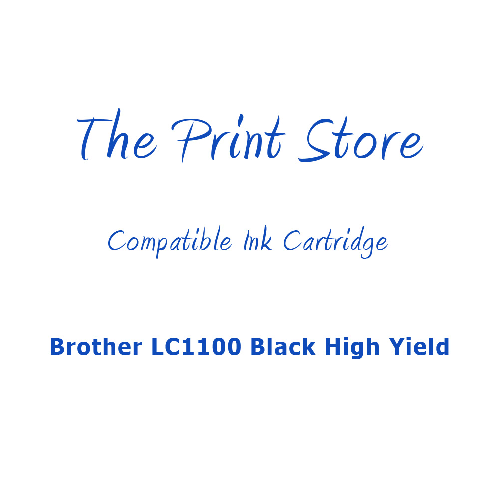 Brother LC1100 Black High Yield Compatible Ink Cartridge