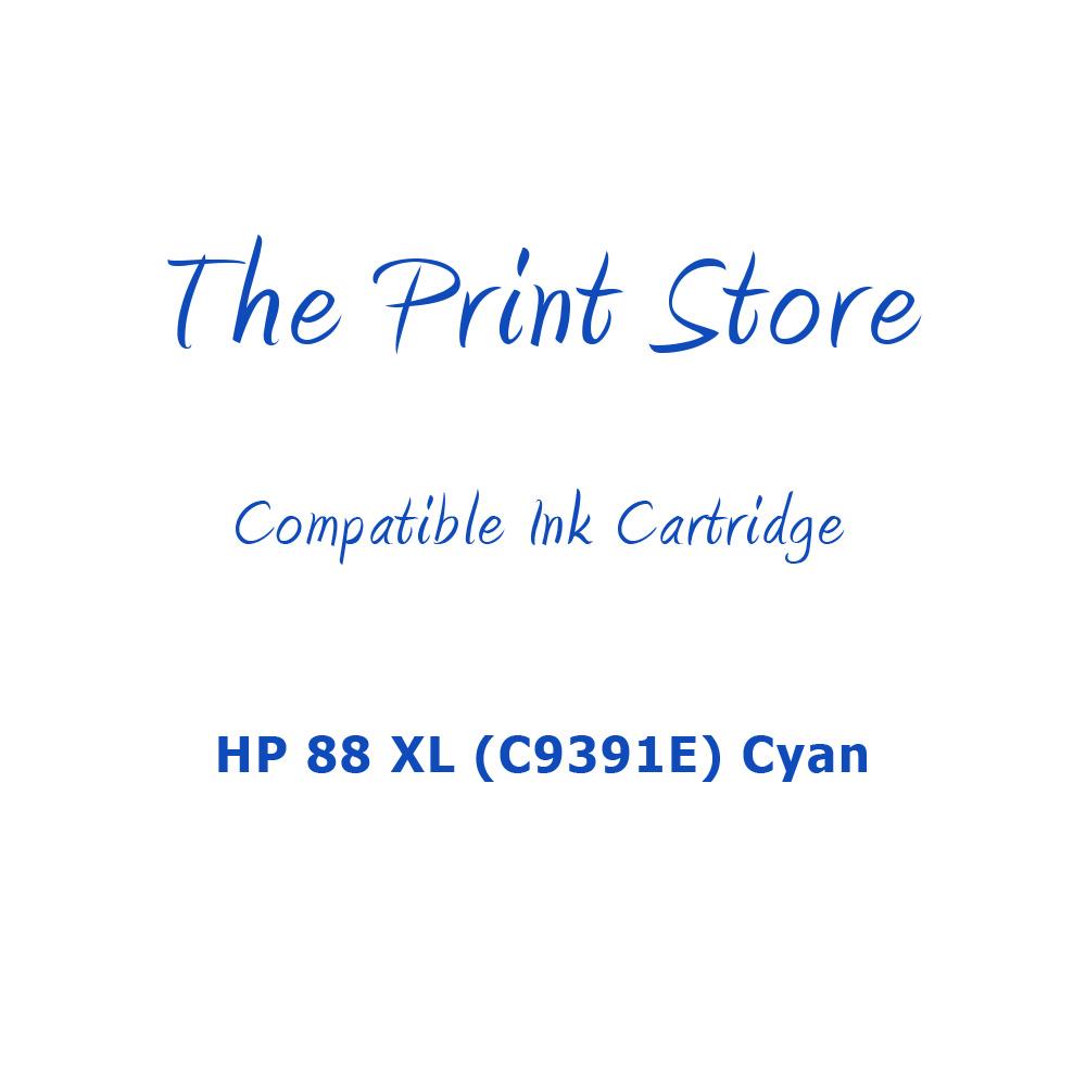 HP 88 XL (C9391E) Cyan Compatible Ink Cartridge