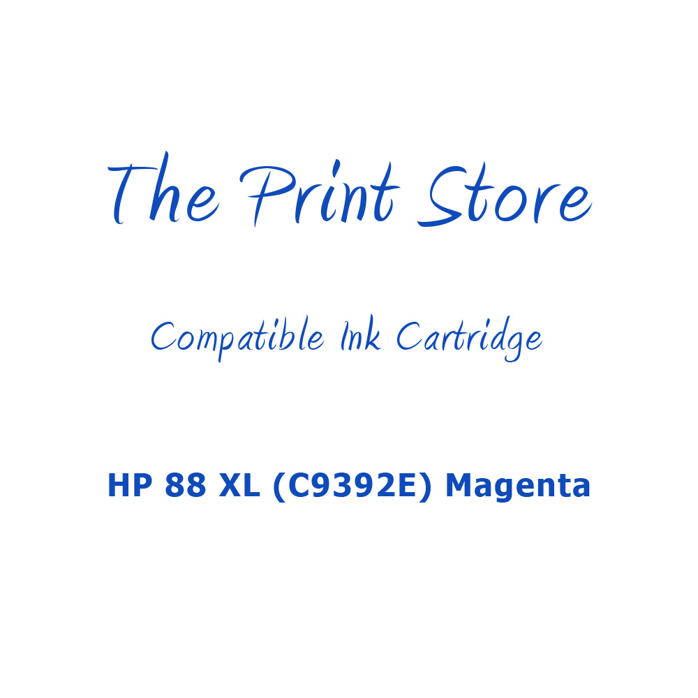 HP 88 XL (C9392E) Magenta Compatible Ink Cartridge