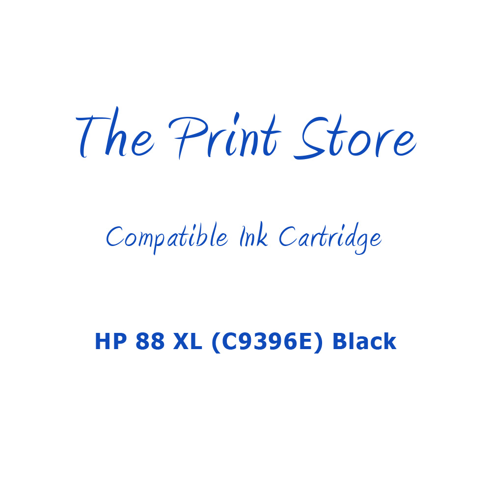 HP 88 XL (C9396E) Black Compatible Ink Cartridge