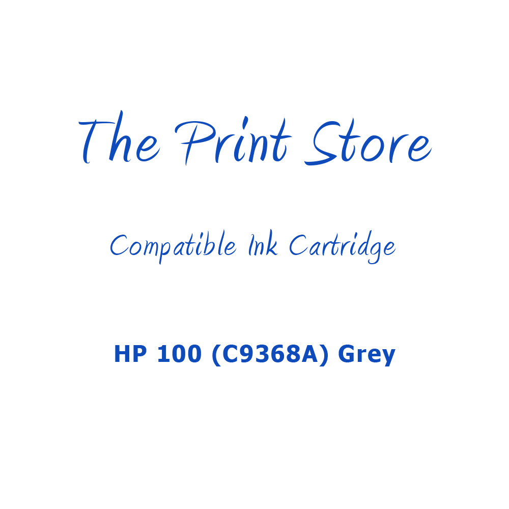 HP 100 (C9368A) Grey Compatible Ink Cartridge
