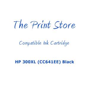 HP 300XL (CC641EE) Black Compatible Ink Cartridge