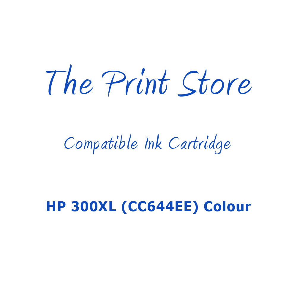 HP 300XL (CC644EE) Colour Compatible Ink Cartridge