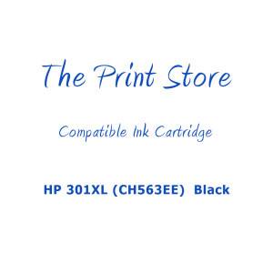 HP 301XL (CH563EE)  Black Compatible Ink Cartridge