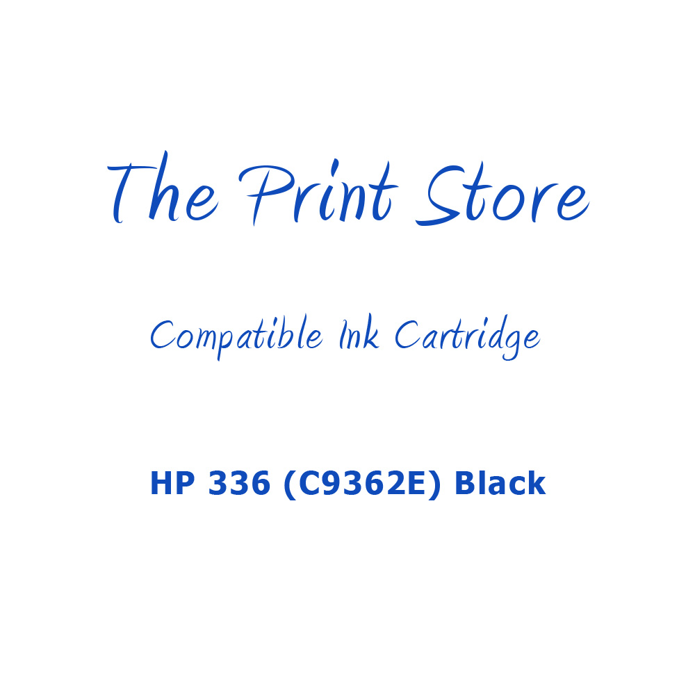 HP 336 (C9362E) Black Compatible Ink Cartridge