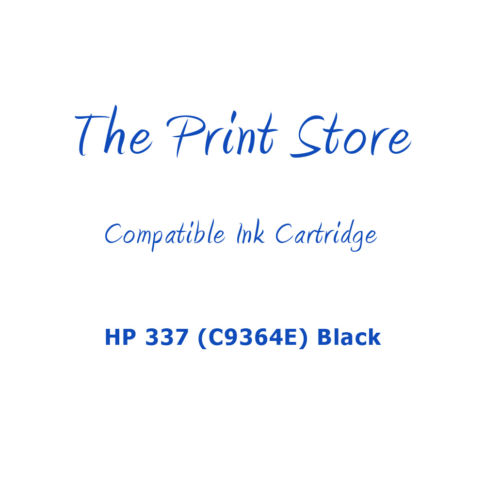 HP 337 (C9364E) Black Compatible Ink Cartridge