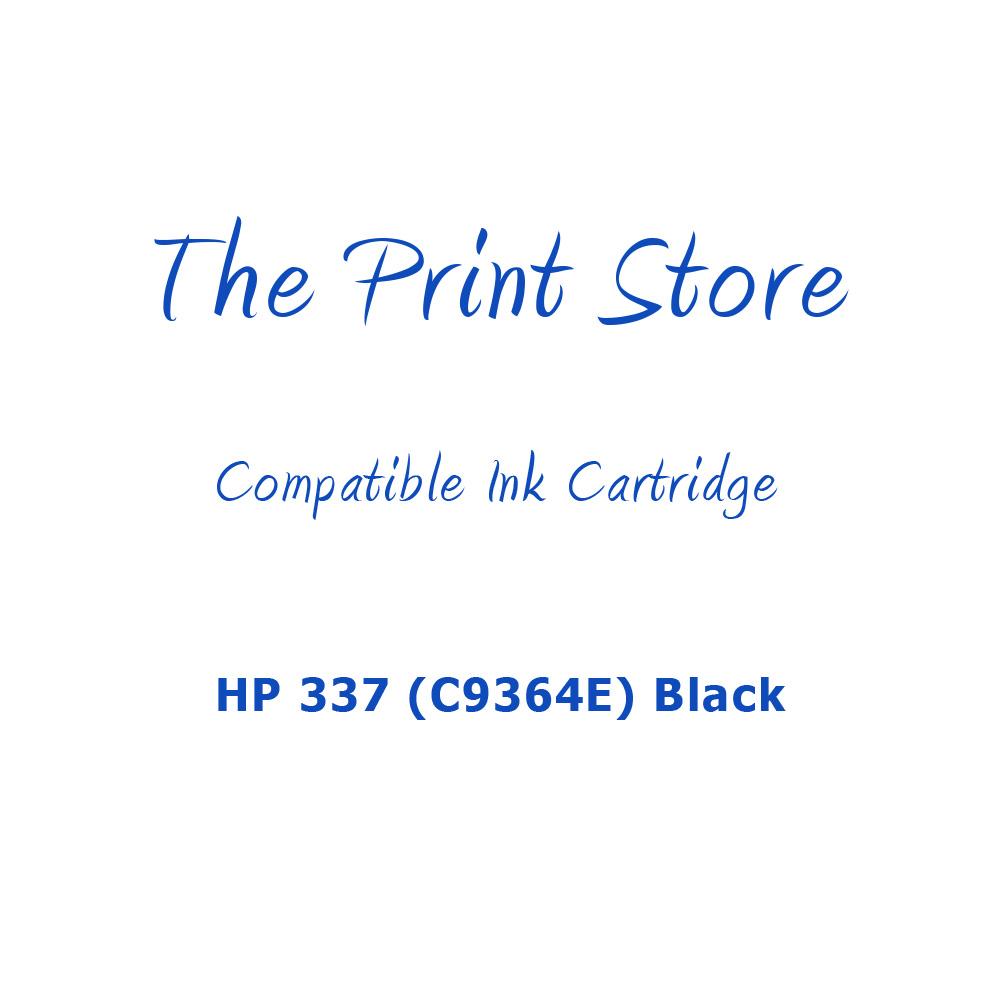 HP 337 (C9364E) Black Compatible Ink Cartridge