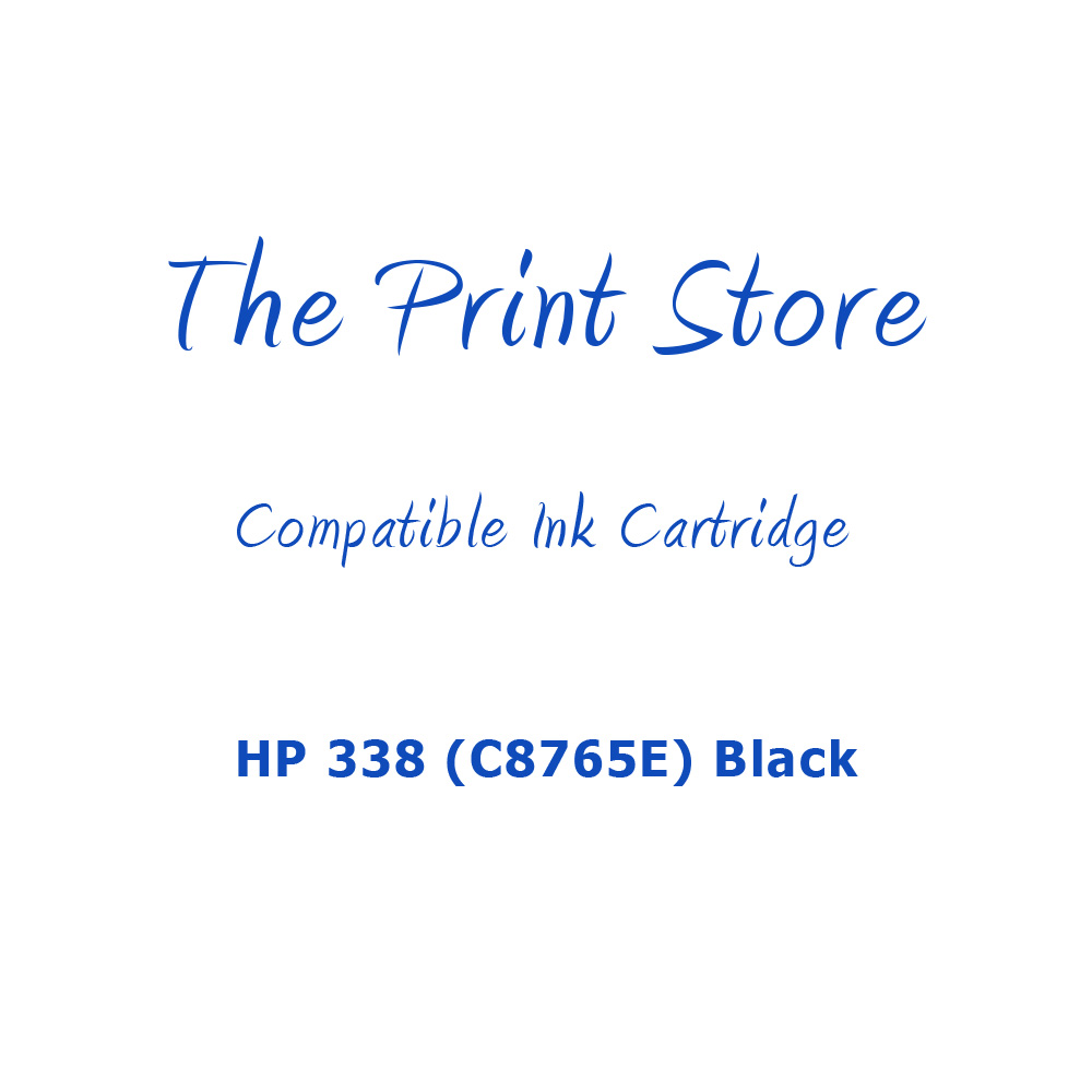 HP 338 (C8765E) Black Compatible Ink Cartridge