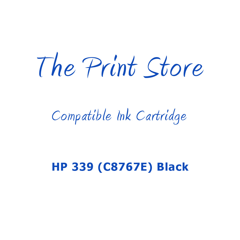 HP 339 (C8767E) Black Compatible Ink Cartridge
