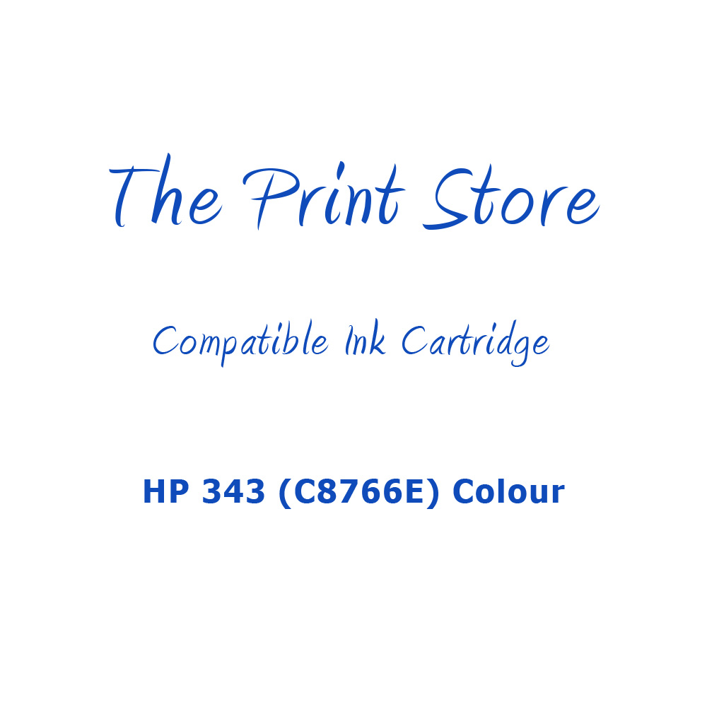 HP 343 (C8766E) Colour Compatible Ink Cartridge