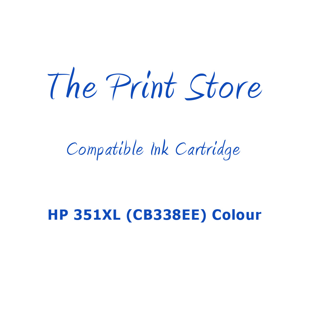 HP 351XL (CB338EE) Colour Compatible Ink Cartridge