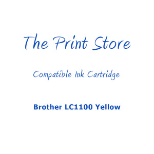 Brother LC1100 Yellow Compatible Ink Cartridge