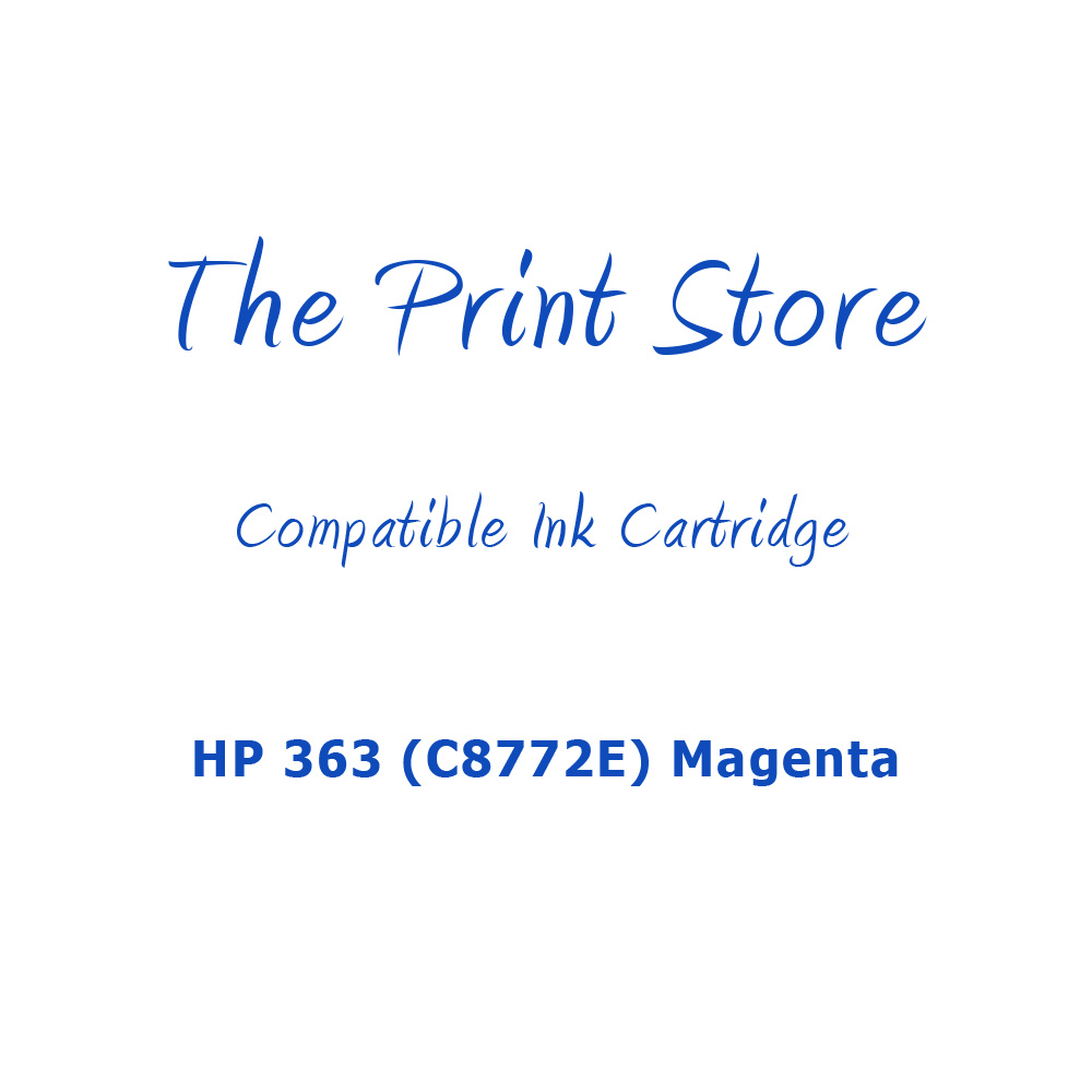 HP 363 (C8772E) Magenta Compatible Ink Cartridge