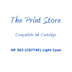 HP 363 (C8774E) Light Cyan Compatible Ink Cartridge