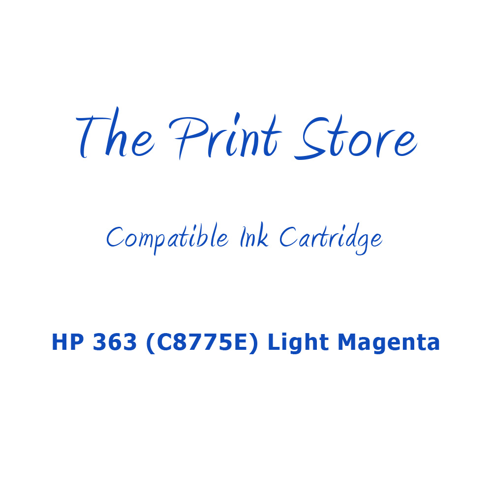HP 363 (C8775E) Light Magenta Compatible Ink Cartridge