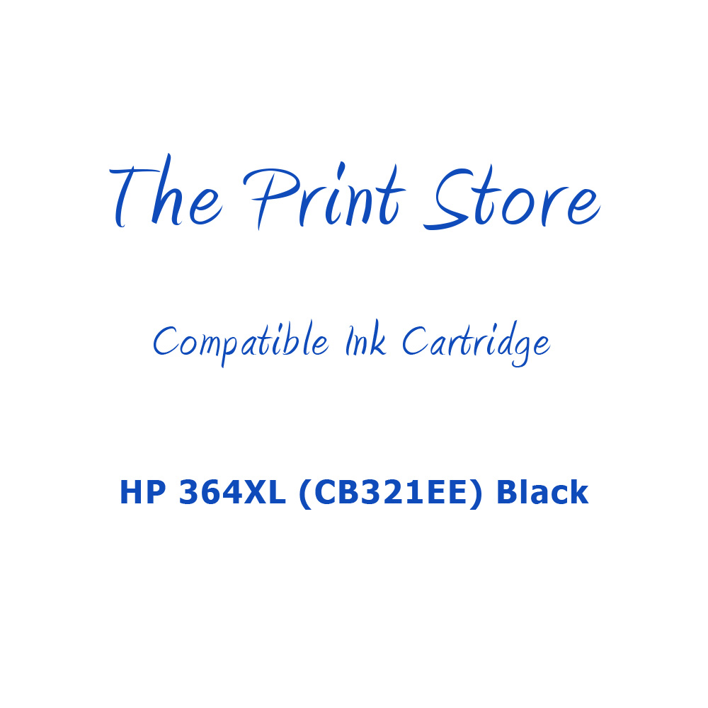 HP 364XL (CB321EE) Black Compatible Ink Cartridge