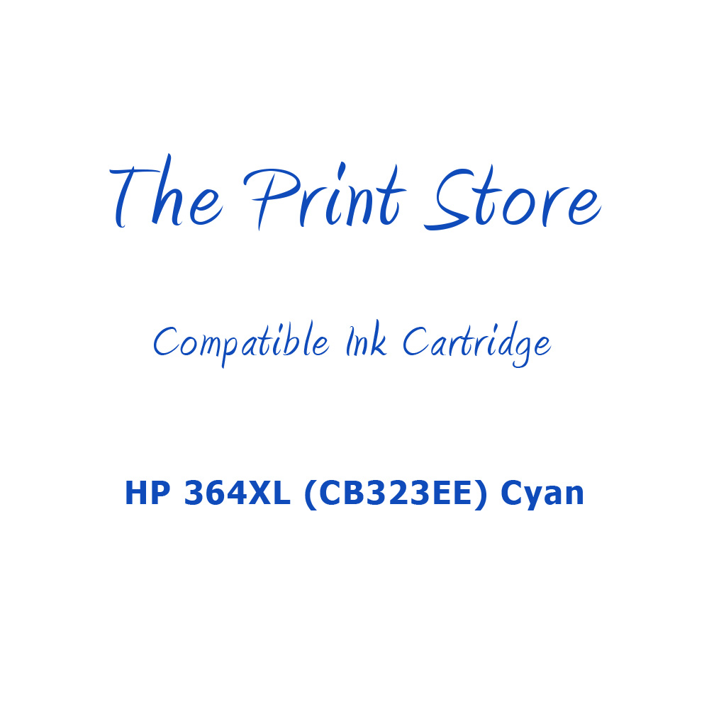HP 364XL (CB323EE) Cyan Compatible Ink Cartridge
