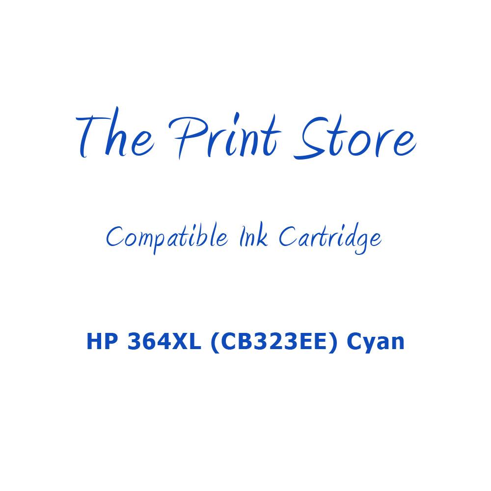 HP 364XL (CB323EE) Cyan Compatible Ink Cartridge