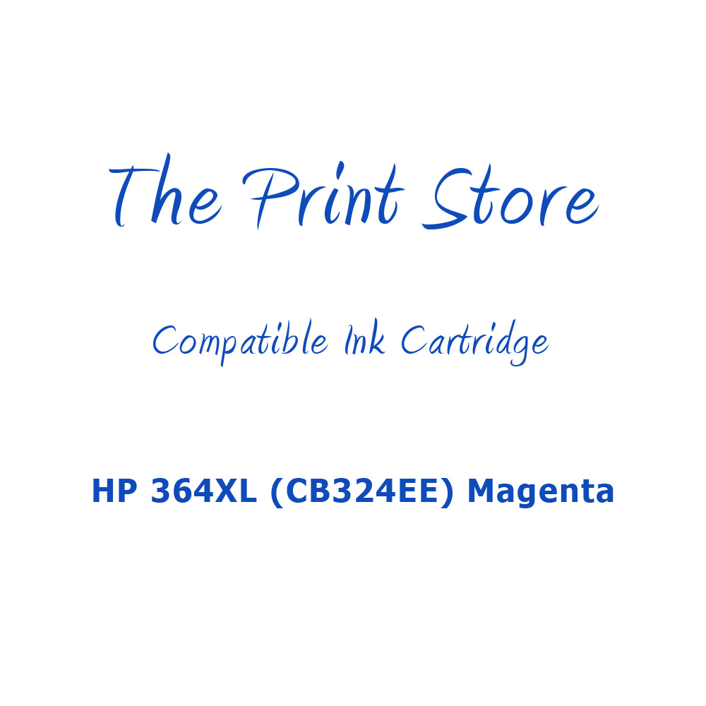 HP 364XL (CB324EE) Magenta Compatible Ink Cartridge