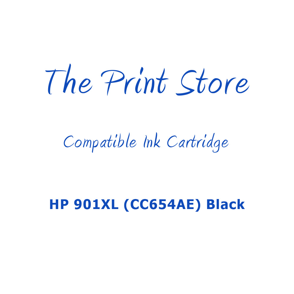HP 901XL (CC654AE) Black Compatible Ink Cartridge